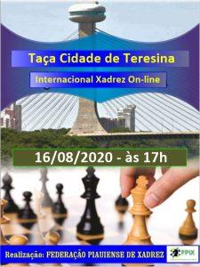 TAÇA CIDADE DE TERESINA INTERNACIONAL INFORMAÇÕES